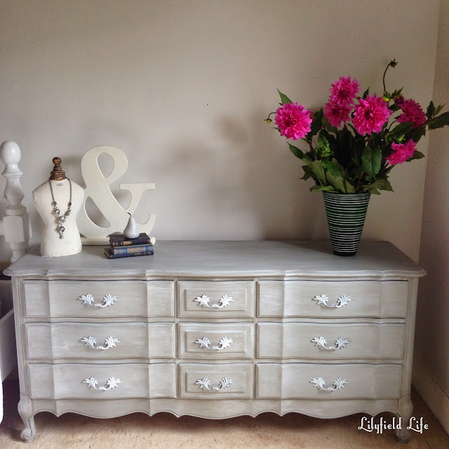 ASCP Chalk Paint french drawers Lilyfield Life