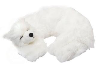 White Husky Heatable Neck Wrap