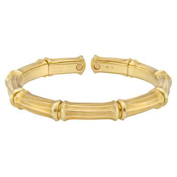 Bamboo Gold Bracelet1