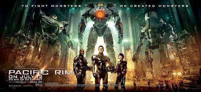 Pacific Rim Rinko Kikuchi Idris Elba Charlie Hunnam Poster