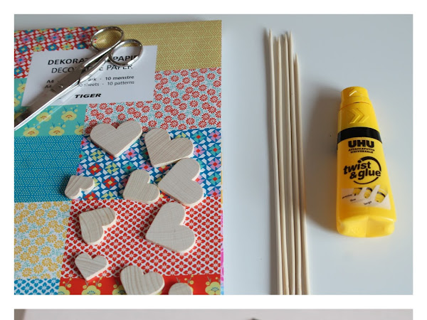 Cuori Di Carta DIY/ Paper Hearts DIY