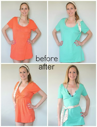 T-Shirt Dress DIY