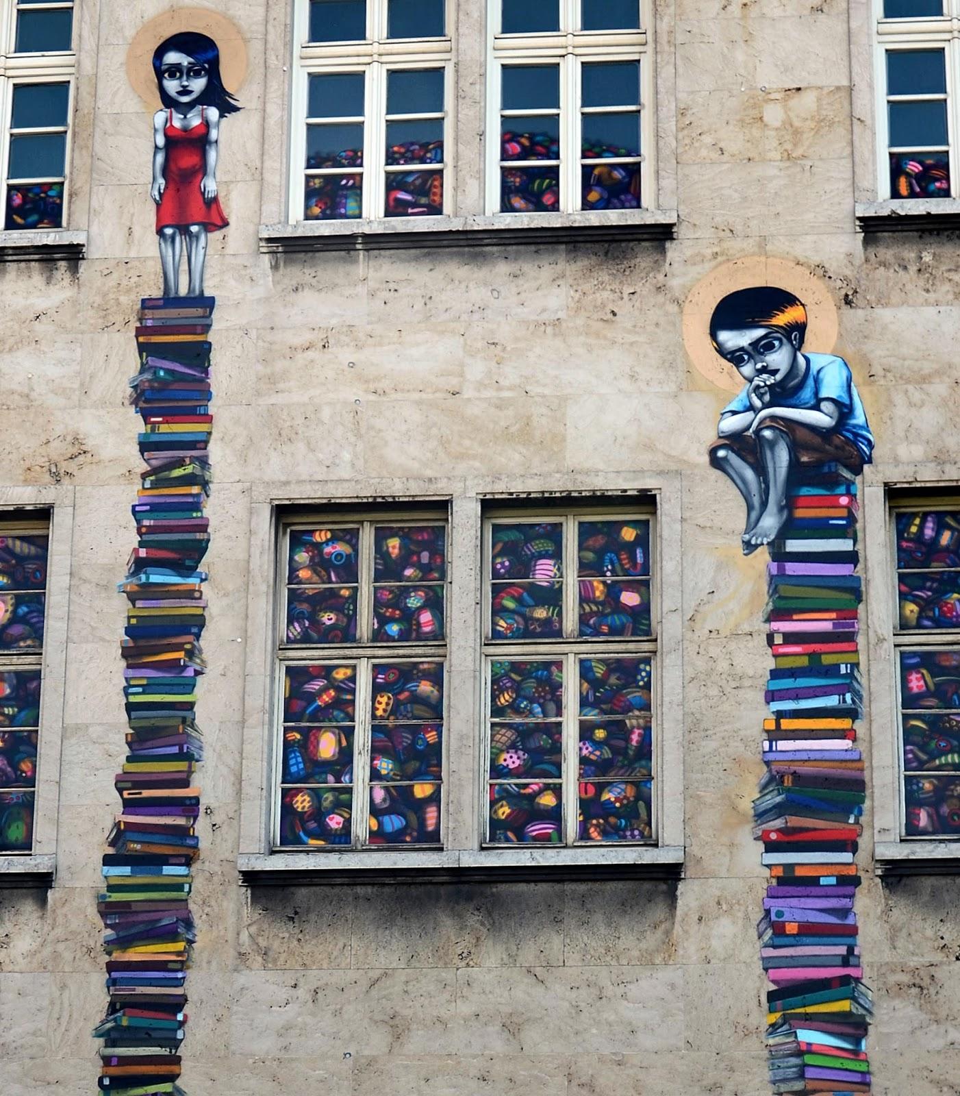 Tinho New Mural In Frankfurt, Germany | StreetArtNews ...