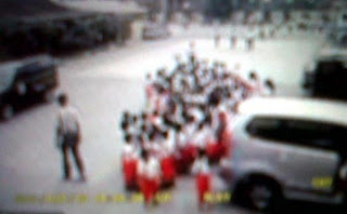 kecelakaan guru tabrak murid di medan