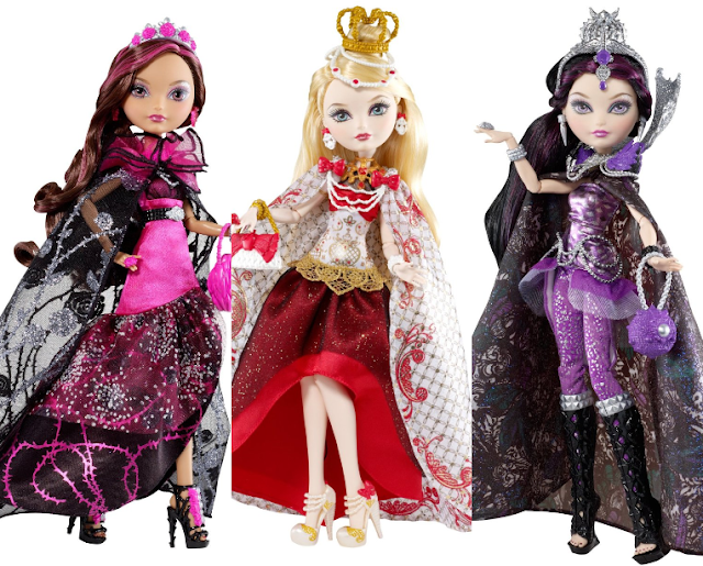 all about ever after high dolls