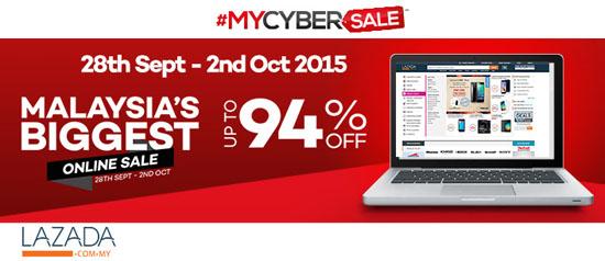 Kemeriahan #MyCyberSale2015