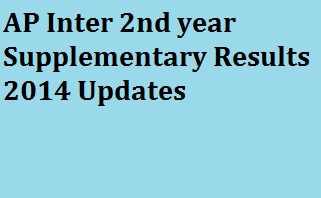 Manabadi AP Inter 2nd Year Supplementary Results 2014 at manabadi.com,Schools9.com