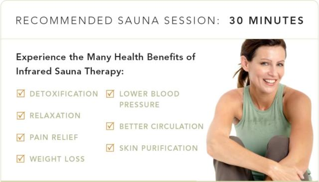 health benifits of sauna