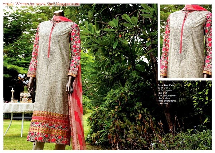 Junaid Jamshed Midsummer Dress Collection 2014