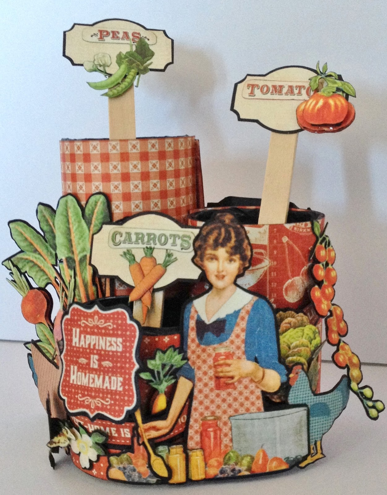 How to make scrapbook video - Great To Use The Seed Images From The Paper Line Also