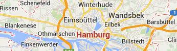 Sehenswertes auf der Hamburg Karte finden