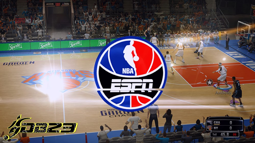 NBA 2K14 ESPN Watermark Logo & Wipe Mod - NBA2K.org