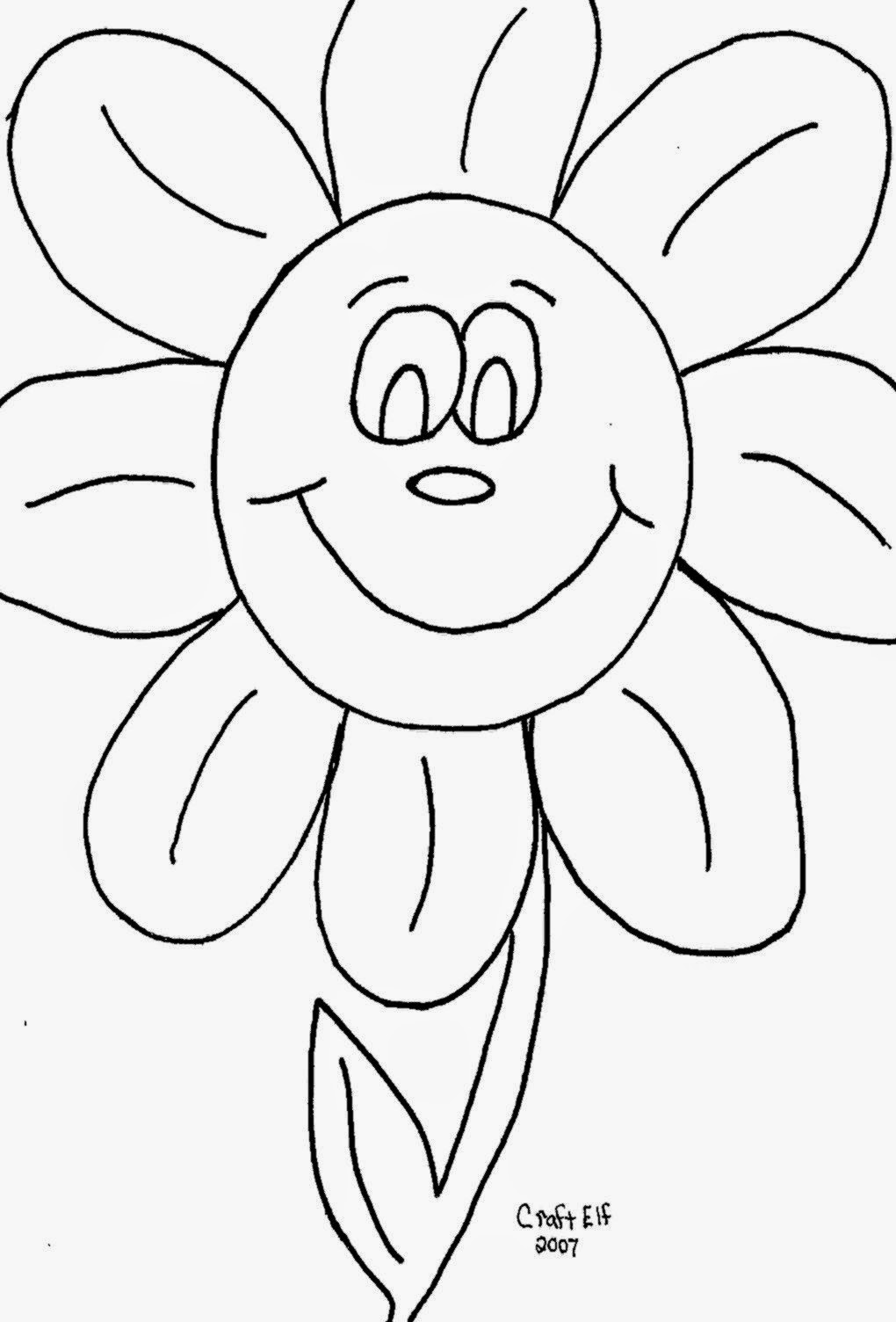 Kindergarten Color Sheets | Free Coloring Sheet