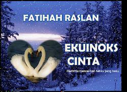 NOVEL on the way insyaAllah kalo jadi~ EKUINOKS CINTA