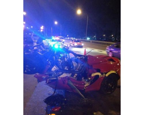 lotus accident ecp