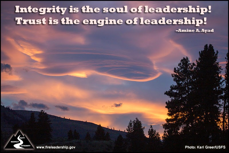 Integrity is the soul of leadership! Trust is the engine of leadership! – Amine A. Ayad