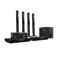 Buy Philips HTB5580D-94 3D Blu Ray Home Theatre System (5.1 Channel) at Rs.24,592  After cashback