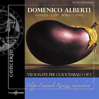 Alberti, D.: 8 Sonate per Clavicembalo, Op. 1