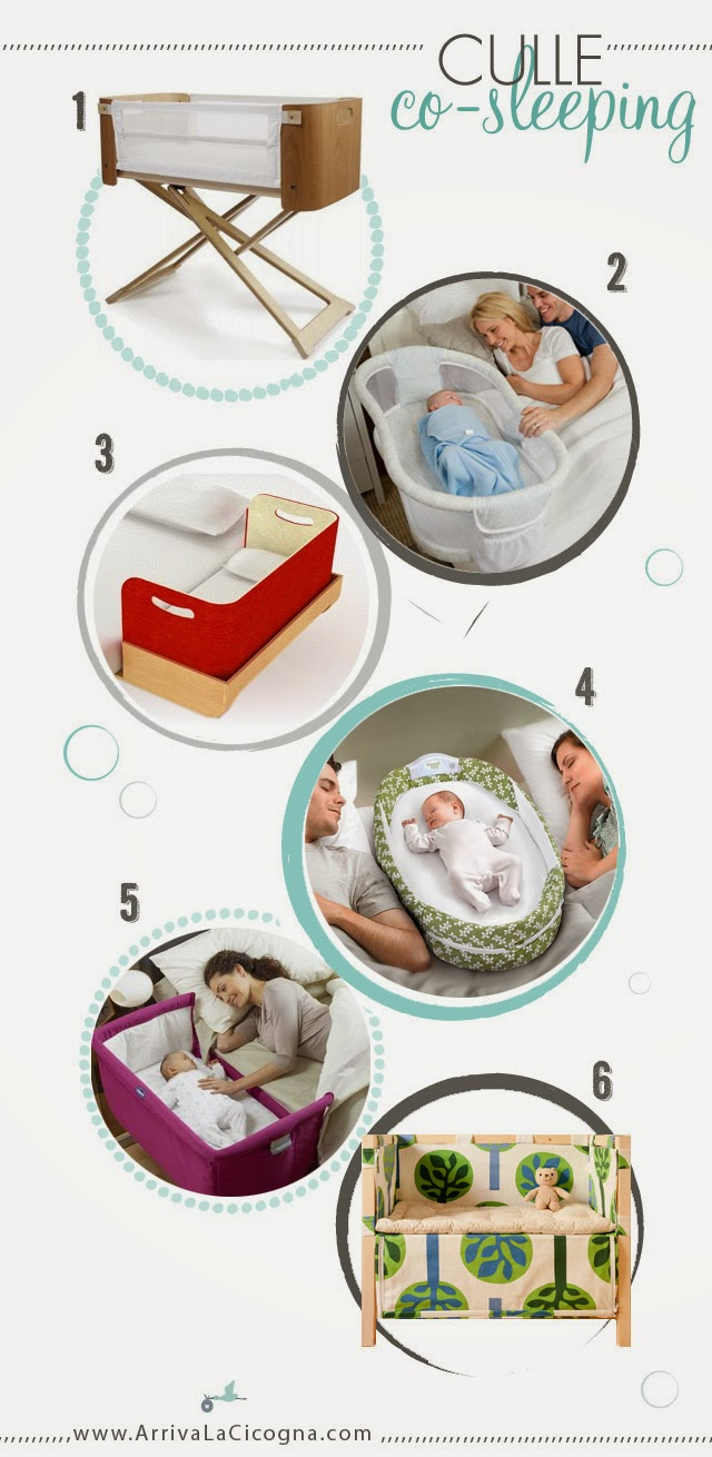 le culle co-sleeping migliori per dormire vicino alla mamma