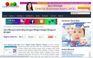 blog cantik