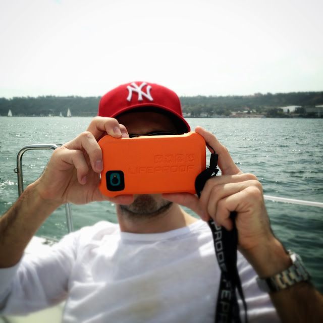 LifeProof case and LifeJacket are essential for any sailing adventure.