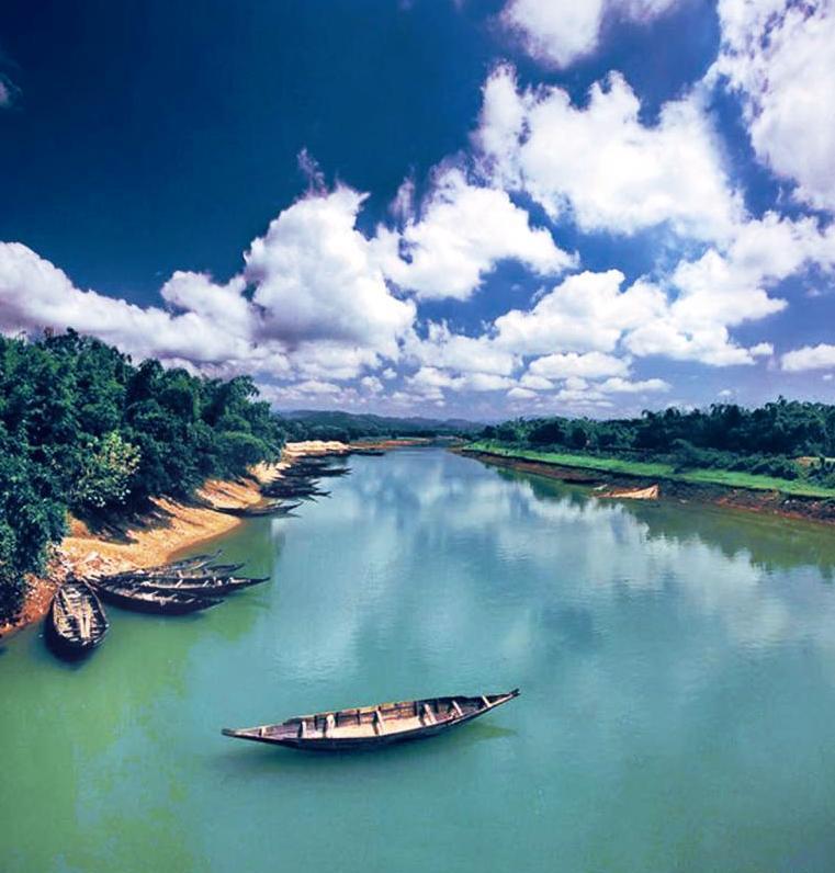 Beautiful Bangladesh Flag