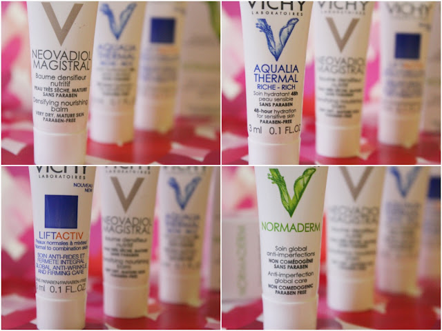 Image of Vichy skin creams