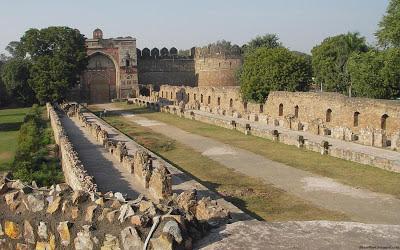 New Delhi Historical Ruins Beautiful Indian City India Hd Desktop Wallpaper