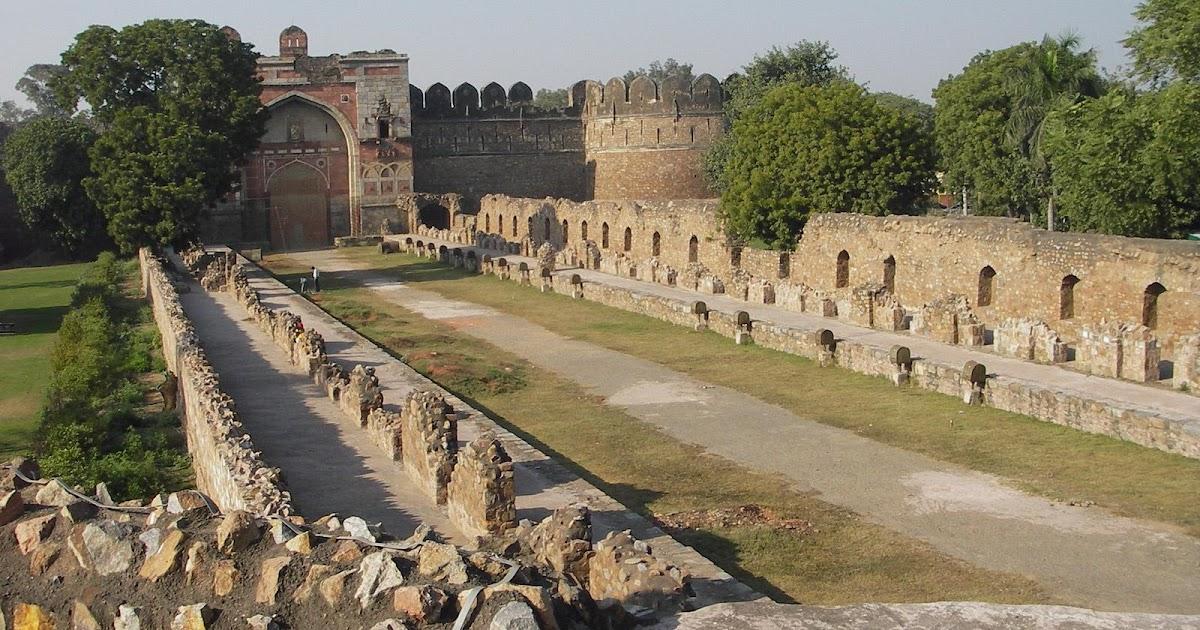 New Delhi Historical Ruins Beautiful Indian City India Hd