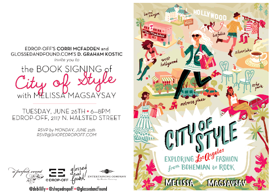City of Style book signing