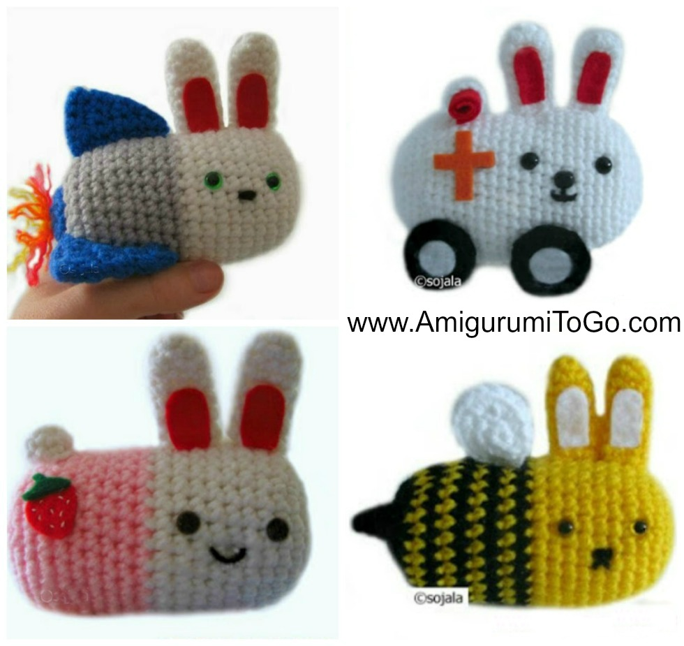 Moshi Moshi Amigurumi Patterns Free ~ Amigurumi To Go