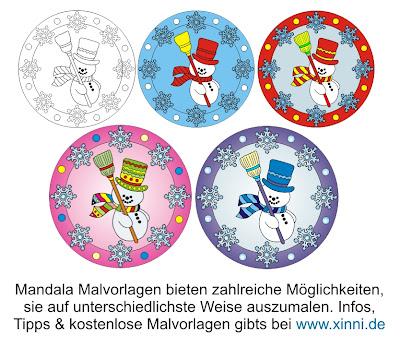Mandala malvorlagen tiere huepfe rein fuer kostenlose bei