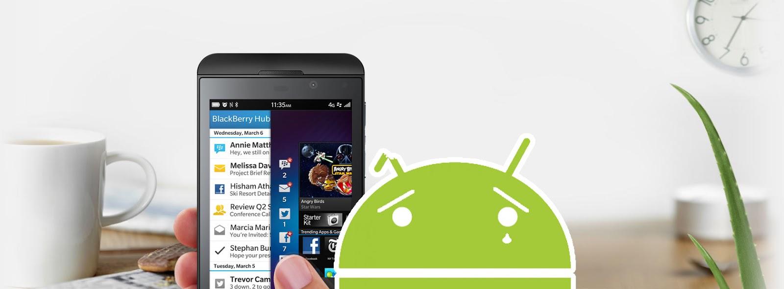 BlackBerry 10 Data Transfer