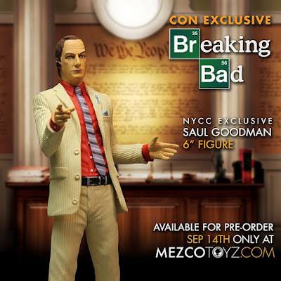 "New York Comic Con 2015 Exclusive Breaking Bad Variant Saul Goodman 6"" Action Figure by Mezco Toyz"