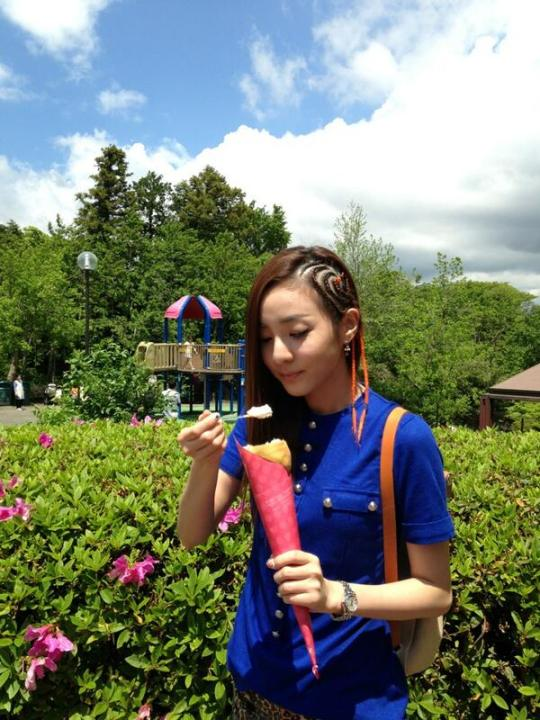 Dara 2NE1 New Hairstyle