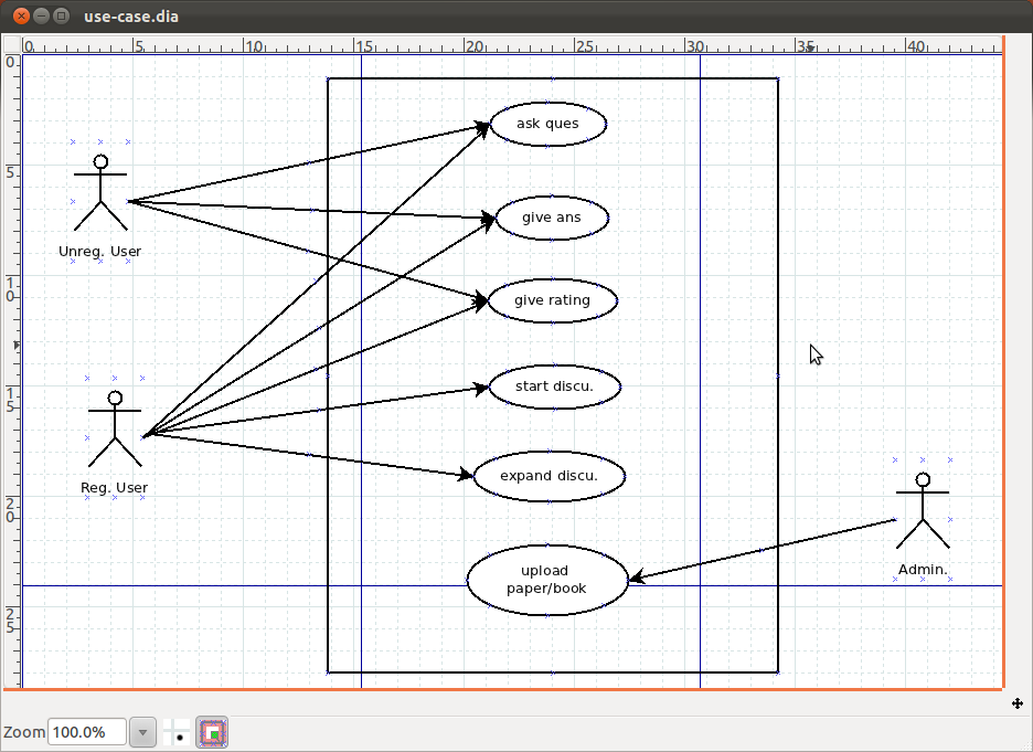 ubuntu blog  dia   a tool for drawing uml and other diagrams in ubuntuyou can   it from ucs  ubuntu software center   and here is the some screenshots of the dia software