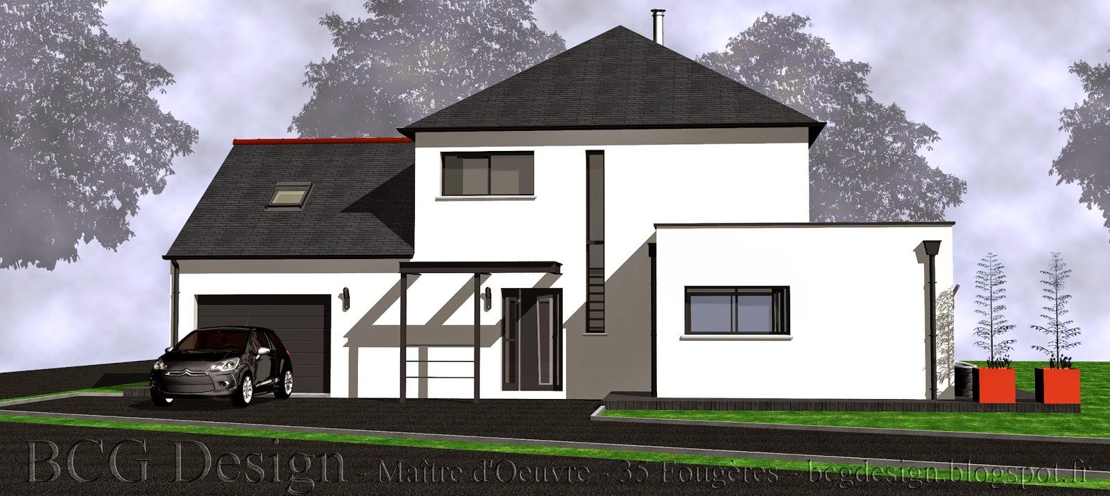 BCG Design  Maître dOeuvre Maisons traditionnelles