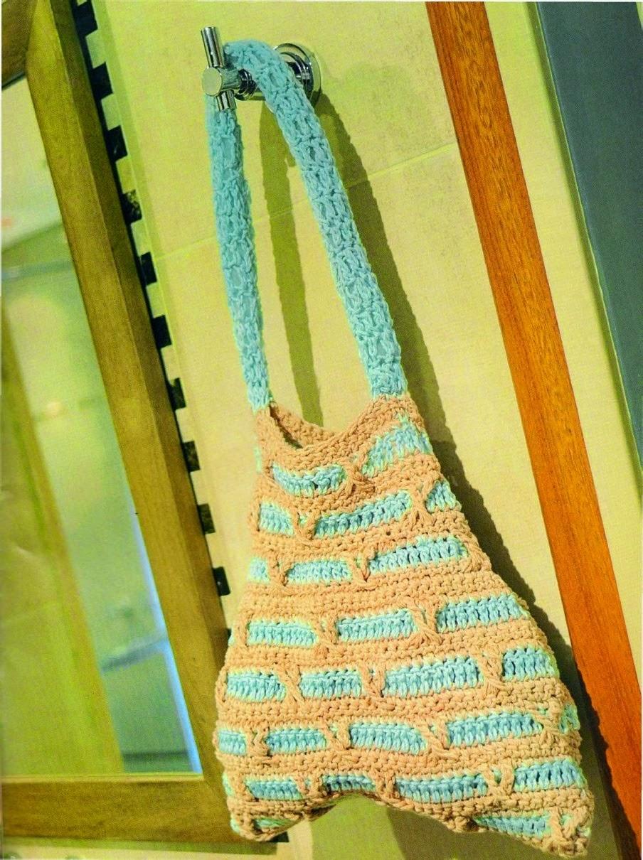 Decoracion De Baño En Crochet:Decoración al crochet para el cuarto de baño