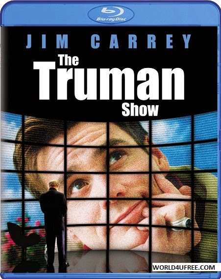 The Truman Show 1998 Dual Audio Hindi 2.0 English 5.1 BRRip 720p 900mb