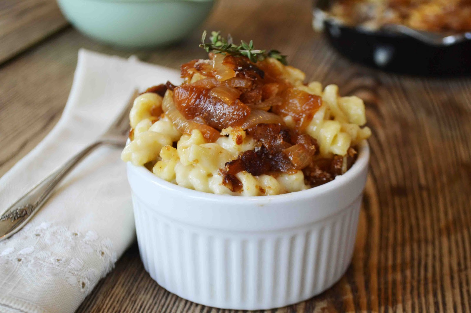 Bakeaholic Mama: French Onion Soup Macaroni and Cheese