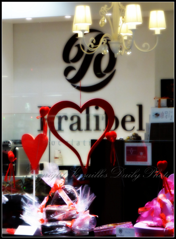 Pralibel chocolate Valentine's Day Versailles