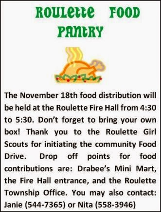 11-18 Roulette Food Pantry