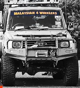 Malaysian4Wheelers Windscreen Sticker