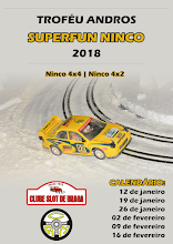 Troféu Andros SuperFun Ninco 2018