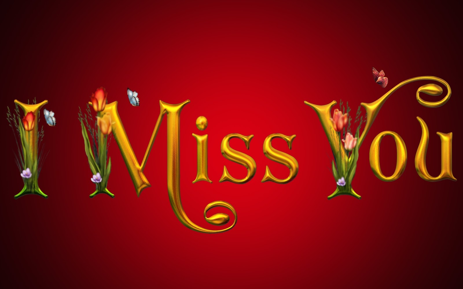 I Miss You Full HD Awesome Wallpaper