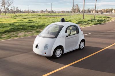 Perusahan Google Kembangkan Mobil Kemudi Otomatis