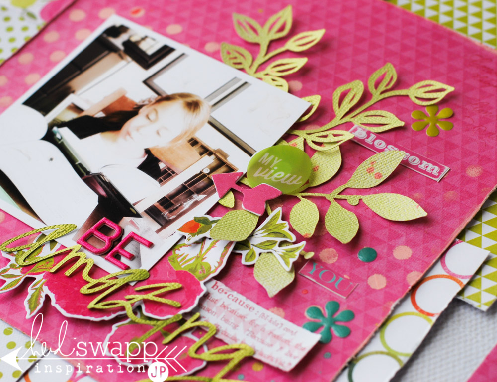National Scrapbook Day | jamie pate #heidiswapp #heidisfavoritethings