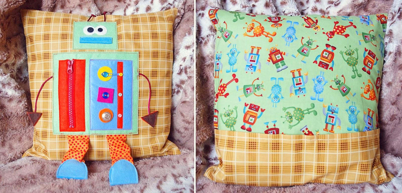 Развивающие подушки своими руками для детей фото 65