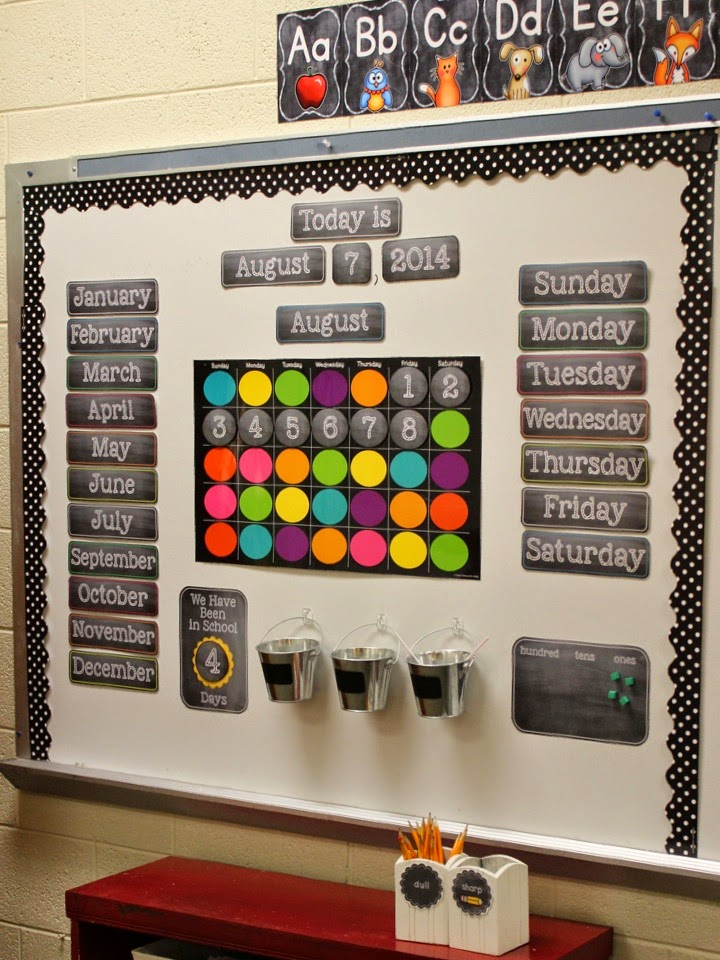 Calendar Ideas For Classroom : School is a happy place peek inside my class and two