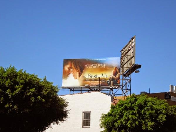 Best of Me film billboard